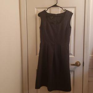 Black Label Evan Picone B&W Polka Dot Dress Size 6